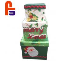 China Nice  For Christmas  Beautiful Christmas Paper Cardboard Gift Boxes for sale