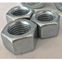 China Galvanized All Metal Hex Lock Nut DIN 980 Prevailing Torque Type M12x25 Size for sale