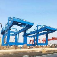 China Tower Fixed Mobile Container Crane Electric Hoist Port Shipyard Outdoor Long Span on sale