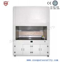 China Medical fume hood with tough 3.2mm glass window, Built-in blower, security work table on sale
