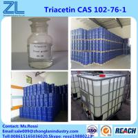 Buy cheap Triacetin(Glycerol Triacetate) CAS 102-76-1 Liquid Highly Used In Flavors Fragrances Industries from wholesalers