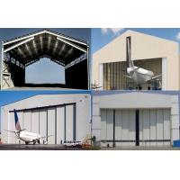 China Single Span Steel Structure Aircraft Hangar Buildings on sale