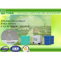 IBC Drums Package Ethylene Glycol Butyl Ether Acetate Solvent For Printing Inks