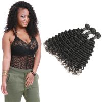 Wholesale Smooth Healthy Deep Wave Hair Bundles 16 Inch Without Chemical Processed from china suppliers