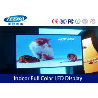 Wholesale Custom Large Full Color Indoor Advertising LED Display Screen PH 6mm , 1R1G1B / SMD3528 from china suppliers