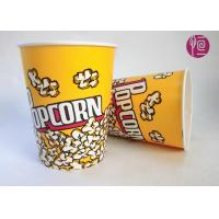 Wholesale 32oz Single Wall Double PE Disposable Popcorn Buckets / Flexo Print from china suppliers
