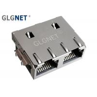 Wholesale 1x2 Offset Rj45 Through Hole Connector Jack Tab Up 1G Without LED Supports PIP from china suppliers