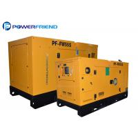 Wholesale 4 Cylinder 230V / 400V 40KW 50KVA Industrial Diesel Generators 4DX23-65D from china suppliers