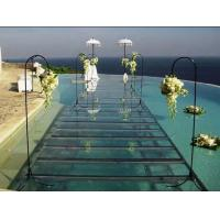 Buy cheap Portable aluminum acrylic stage platform for swimming pool , aluminium stage deck from wholesalers