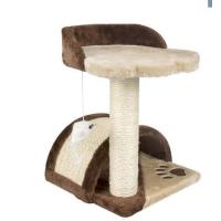 Wholesale Climbing Cat Scratching Tree Stable Square - Shaped Base Room Corner Placement from china suppliers