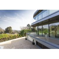 Wholesale Frameless Aluminum Glass Channel Railings Balcony Balustrade NZS from china suppliers