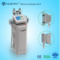 Buy cheap Cellulite Slimming Equipment Fat Freeze Cryolipolysis Slimming Machine With Cavitation from wholesalers