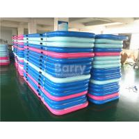 Wholesale Lightweight Inflatable Bouncing Air Track For Gymnastics , Air Track Game from china suppliers