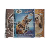Wholesale Cute Souvenir Gift 3D Lenticular Notebook A4 Size Offset UV Printing from china suppliers