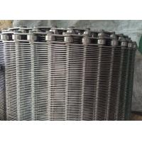 Wholesale Stainless Steel Flexible Flat Wire Mesh Conveyor Belt For Bread Industry from china suppliers