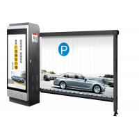 China Advertising Auto Barrier Gate System Parking Management With Powder Coating on sale
