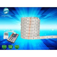 5M 5050 RGB 300 SMD LED Strip Waterproof 120 Degree Beam Angle For Decoration for sale