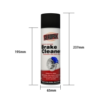 Buy cheap OEM UN1950 DME Gas Aeropak 500ML Brake Cleaner Spray from wholesalers