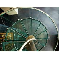 Wholesale Spiral staircase glass stairs glass balustrade from china suppliers