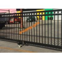 Wholesale Remote Control Sliding Gate / Driveway Automatic Security Gates Factory from china suppliers