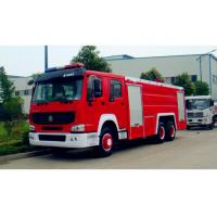 Wholesale 12m3 Fire Fighting Truck , Fire Engine Truck Red And White Color from china suppliers
