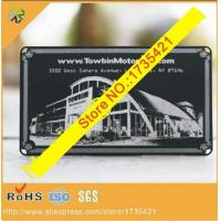 Wholesale Factory price Black base custom logo metal cards from china suppliers