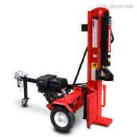 Wholesale 50 Ton Hardwood log splitter , powerful industry wood cutting and splitting machine from china suppliers