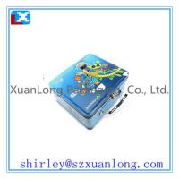 Wholesale Top quality  metal lunch tin box with handle wholesale from china suppliers