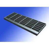Wholesale With nosing Galvanzied Steel Stair Treads Bearing Bar 25mm x 3mm from china suppliers