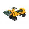 Pretend Play Ride On Trucks For Toddlers , Plastic Bulldozer Sliding Car for sale