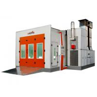 Quality 7.5KW Exhaust Turbo Fan Downdraft car Spray Booth For Automobile Painting, for sale