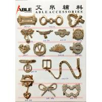 Wholesale Elaborated Design Metal Shoes Buckles Accessory , Horse Belt Decorative Shoe Buckles from china suppliers