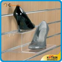 Wholesale High quality custom manufacture acrylic shoes rack,Popular transparent acrylic shoe display stand rack from china suppliers