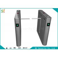 Wholesale IR Sensor 304 Stainless Steel Drop Arm Barrier Bi-direction Channels Turnstiles from china suppliers