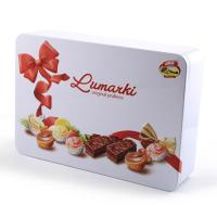 Custom Recycled Exquisite Chocolate Tin Box for sale
