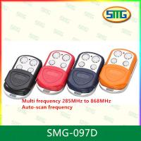Wholesale SMG-097D AUTO scan frequency multi frequency 4 buttons universal gate remote control from china suppliers