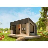 China Prefabricated Light Steel Frame Tiny House On Wheels Long Life Span for sale