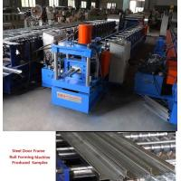 Wholesale Efficient Steel Door Frame Roll Forming Machine 20 Station High Performance from china suppliers