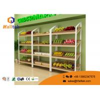 Wholesale Floating Wooden Shop Display Stands Boutique Steel Wooden Retail Displays from china suppliers