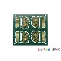 Wholesale Custom PCB Circuit Board 4 Layers FR - 4 Base Material For Mobile Phone SIM Card Slot from china suppliers