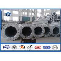 Wholesale Conical / Round 10M swaged type Steel Tubular Pole For 110kv Power Distribution Line from china suppliers
