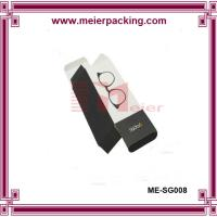 Wholesale Customized paper box for sunglass packaging/Collapsable flat black paper box ME-SG008 from china suppliers