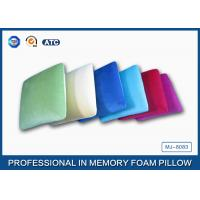 Wholesale Square Shaped Traditional Memory Foam Pillow With Velvet And Comfort Pillowcase from china suppliers
