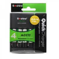 China 1-4 pcs AAA/AAA Intelligent Battery Charger With Delta V | U1 on sale