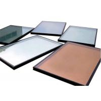 China High Precision Flatness Pink Reflective Float Glass For Construction / Decoration on sale