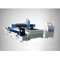 Buy cheap 90 m / min Fiber Laser Cutting Machine For Round Metal Pipe / Sheet Cutting from wholesalers