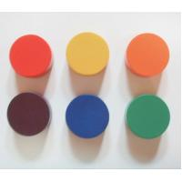 Wholesale wood chips wood round game pieces 6pcs from china suppliers
