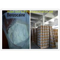 CAS 94-09-7 Benzocain Local Anesthetic Powder White Crystalline For Pain Reliever