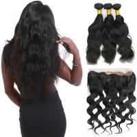 Wholesale Raw Long Malaysian Virgin Hair Extensions , 3 Bundles Of Malaysian Curly Hair from china suppliers