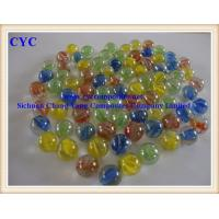 Wholesale Children Playing Colorful Glass Marble Balls (GMB) from china suppliers